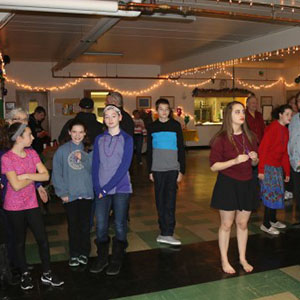 Youth Group at Saints Peter and Paul Lutheran Church in Riverside, Illiniois